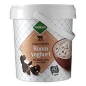 Melkan Roomyoghurt Stracciatella voorkant