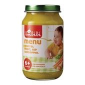 Bonbébé Baby/Peuter Maaltijd Menu Wortel, Erwt, Kip En Aardappel