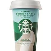 Starbucks chilled classics skinny latte voorkant