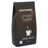 Fortisimo Koffie Espressobonen Dark achterkant
