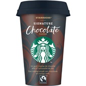 Starbucks chilled classics signature chocolate voorkant