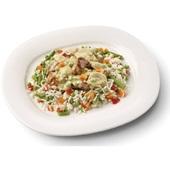 Culivers (26) boeren kippenragout met witte rijst-groenteschotel