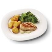 Culivers (31) kipfilet in champignonsaus met broccoli en röstirondjes