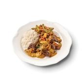 Culivers (85) daging rendang met sajourboontjes en witte rijst