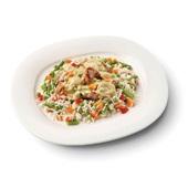 Culivers (96) boeren kippenragout met witte rijst-groenteschotel