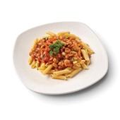 Culivers (68) Schotel van borlottibonen met pijnboompitten, salie en tomaat met penne van kikkererwten voorkant