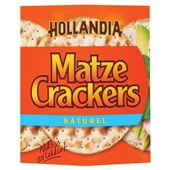 Hollandia Matzes Crackers Naturel