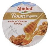 Almhof Roomyoghurt Walnoot Griekse honing achterkant