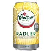Grolsch Radler Blik 6X33Cl achterkant