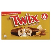 Twix Ice cream repen 6 stuks