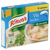 Knorr Bouillon Vis achterkant