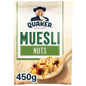 Quaker Havermout Muesli noten