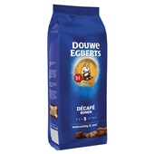 Douwe Egberts Koffiebonen Aroma Rood Decafe Bonen achterkant