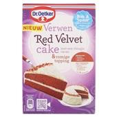 Dr. Oetker Bakmix Red Velvet Cake