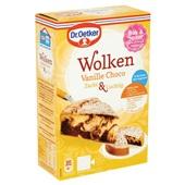 Dr. Oetker wolkencake vanille chocolade achterkant