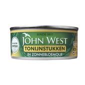 John West Tonijnstuk in zonnebloemolie