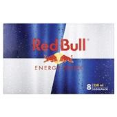 Red Bull Energiedrank Regular 8X250ML