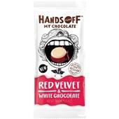 Hands Off My Chocolate chocolade red velvet milk  voorkant