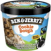 Ben&Jerry ijs cookie dough voorkant