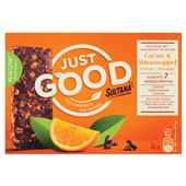 Sultana just good sinaasappel cacao voorkant