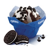 Oreo muffin Oreo