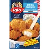 Iglo Ocean cuisine Kibbeling