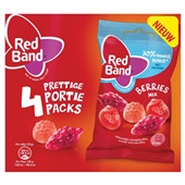 Red Band berries winegums mix voorkant