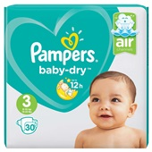 Pampers baby dry luiers carry pack maat 3