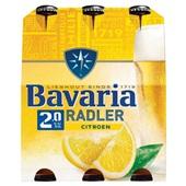 Bavaria radler lemon fles