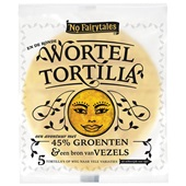 No fairytales wortel tortillas voorkant