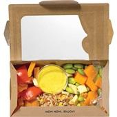 Beij Ching bento box omelet quinoa achterkant
