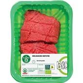 Spar biefstuk biologisch voorkant