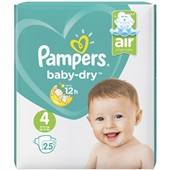 Pampers baby dry carry pack maat 4