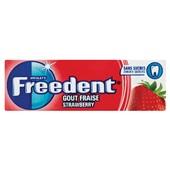 Freedent kauwgom strawberry voorkant