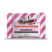 Fisherman's Friend framboos voorkant