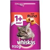 Whiskas Adult Kattenvoer Brokken Met Rund