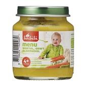 Bonbébé Baby/Peuter Maaltijd Menu Wortel, Erwt En Bloemkool voorkant