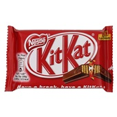 Kit Kat Chocolade Single 4 fingers voorkant