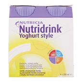Yoghurtstyle vanille 4x200 ml voorkant