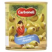 Carbonell Groene Olijven Ansjovis