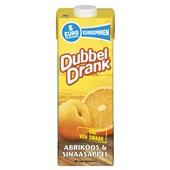 DubbelDrank Vruchtensap Abrikoos Sinaasappel