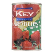 Key Aardbeien In Siroop