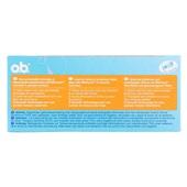 o.b. Pro-Comfort Tampons Super achterkant