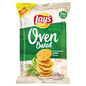 Lay's Oven Baked chips mediterranean herbs
