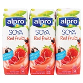 Alpro Soya Drink Rode Vrucht Mini