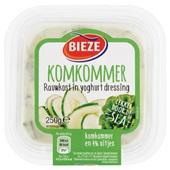 Bieze rauwkostsalade komkommer