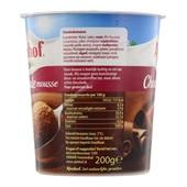 Almhof Chocolademousse achterkant