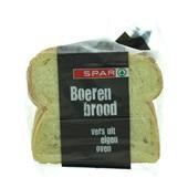 Spar boerenbrood maïs half achterkant