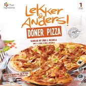 Lekker en Anders Döner Pizza