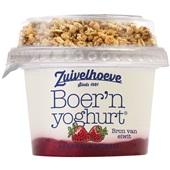 Zuivelhoeve Yoghurt Aardbei/Muesli